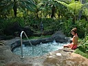 Sand Bottom Jacuzzi at Tropical Pool